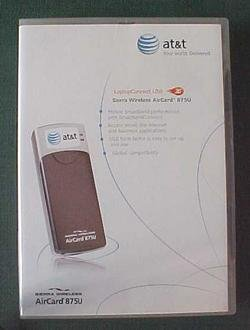 BRAND NEW AT&T SIERRA WIRELESS USB AIRCARD 875U 3G FACTORY SEALED