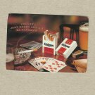 KLUBOWE CIGARETTE POLISH ADVERTISING CALENDAR CARD 2001