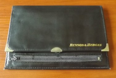 BENSON & HEDGES 1970s 1980s FULL SIZE BANKNOTE WALLET ADVERTISING GIFT NEW AND UNUSED
