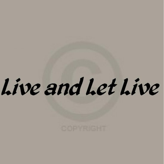 Live & Let Live