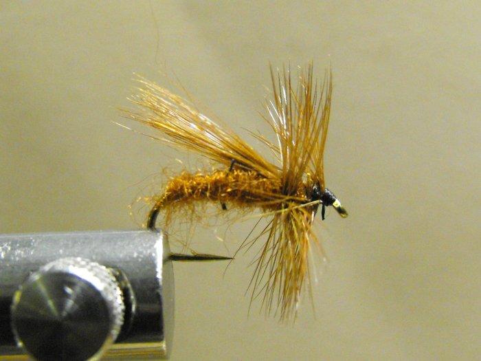 Fluttering Caddis, Brown