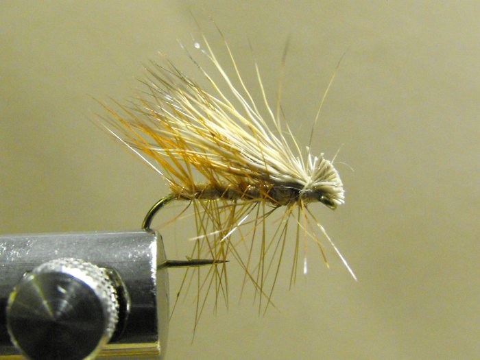Elk Hair Caddis, Tan