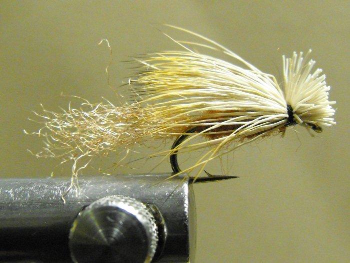 X-Caddis, Elk Hair - Brown