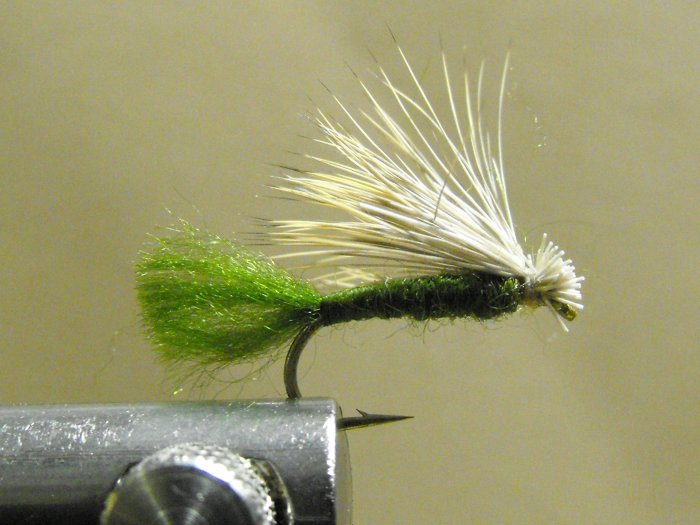X-Caddis, Elk Hair - Olive