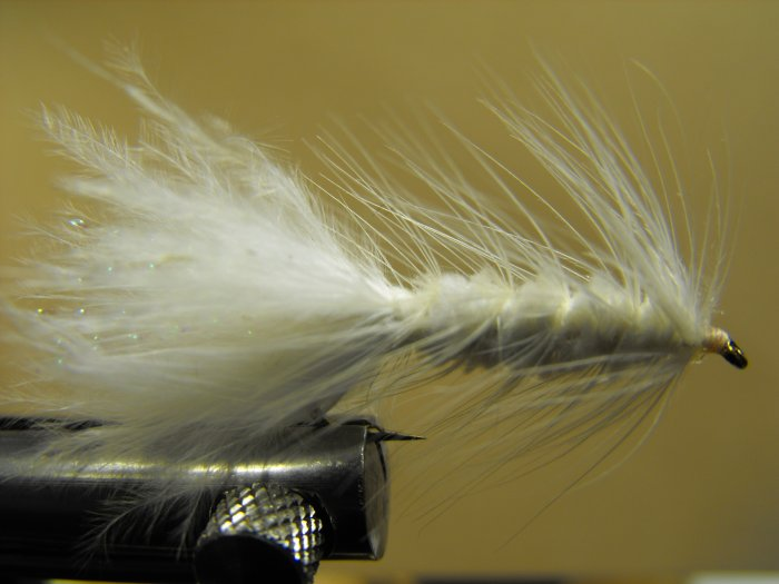 Woolly Bugger, White