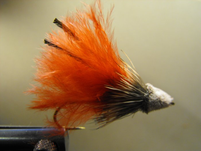 Marabou Muddler Minnow, Red