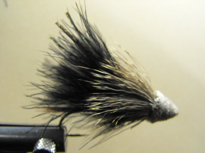 Marabou Muddler Minnow, Black