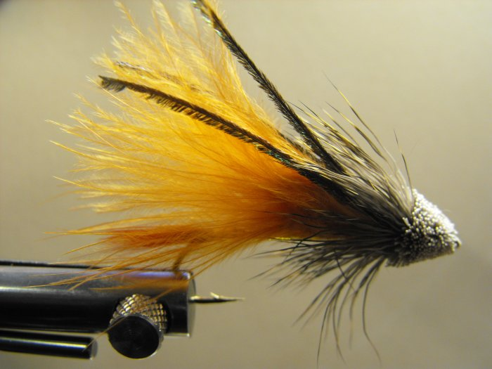 Marabou Muddler Minnow, Orange