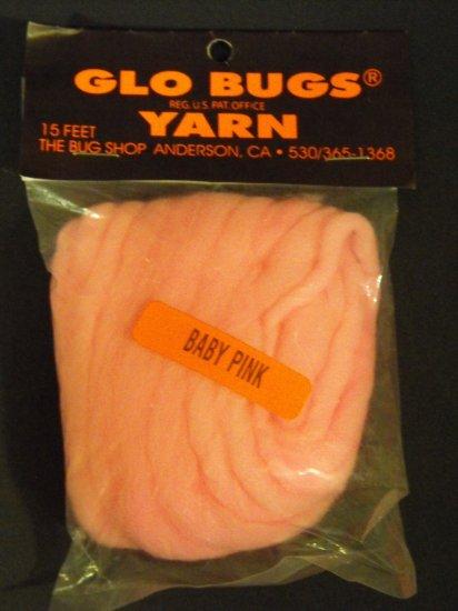 Glo Bugs Yarn, Baby Pink