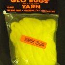 Glo Bugs Yarn, Sunrise Yellow