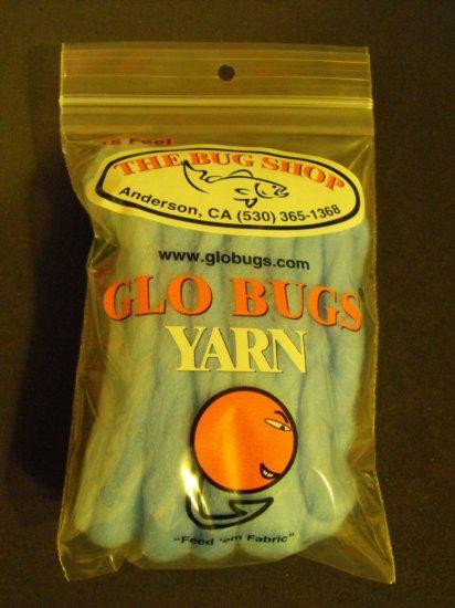 Glo Bugs Yarn, Light Blue