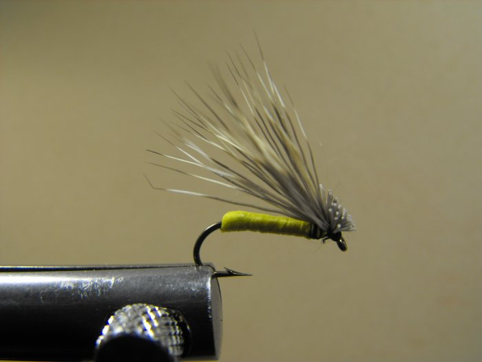 Foam Elk Hair Caddis - Yellow