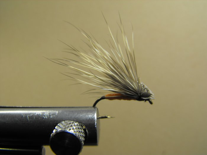 Foam Elk Hair Caddis - Orange