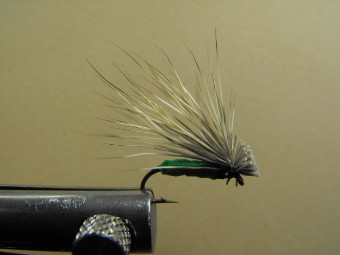 Foam Elk Hair Caddis - Green