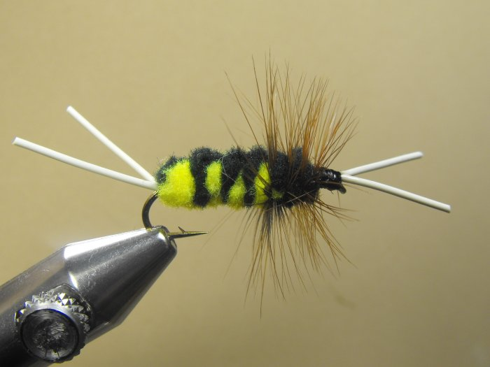 Blitz Creek Nymph - Black & Yellow - Wet Fly