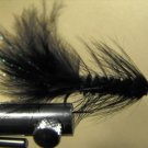 1 Dzn - Woolly Bugger - Trout or Pan fish -  Black