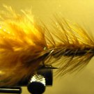 1 Dzn - Woolly Bugger - Trout or Pan fish -  Brown