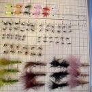 480 Fly Assortment - Wet & Dry Fly - Trout & Pan Fish