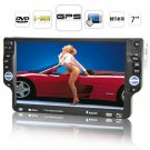 [CVSI-C62] Piranha - 7 Inch Detachable Car DVD Player (1-DIN + GPS)