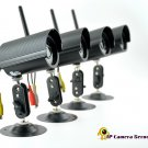 Nightvision Camera Server with 4 Wireless Cameras  CVLM-I80