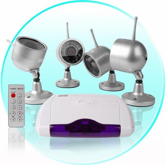 Wireless Home Surveillance - Camera + Receiver (EU)  CVD-42A802X4-PA