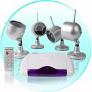 Wireless Home Surveillance - Camera + Receiver (EU)  CVD-42A802X4-PA