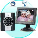 Wireless Car Baby Monitor with Night Vision + DVR  [CVLL-DV24]