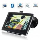 7 Inch HD Touchscreen GPS Navigator (Bluetooth, FM Transmitter) [CVGY-TR17]