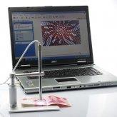 2.0MP USB Digital Microscope/Endoscope (200X, 6 LEDs)