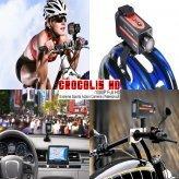 Crocolis HD - 1080P Full HD Extreme Sports Action Camera (Waterproof)