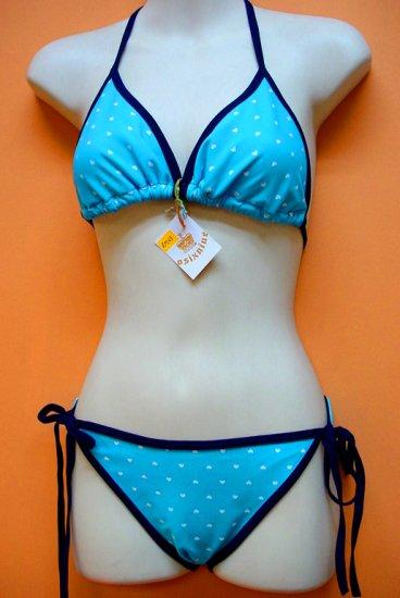 Blue Hearts Bikini