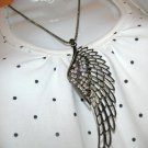 Dark Angel's Wing Necklace