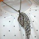 Dark Angel's Wing Necklace