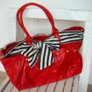 Janet Red Navy Bag