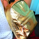 Mary J Gold Shiny Backpack