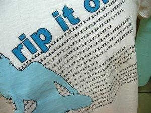 Kuzizumoo Collection : Rip it Off Tshirt