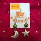 Moon Meets the Star Earrings