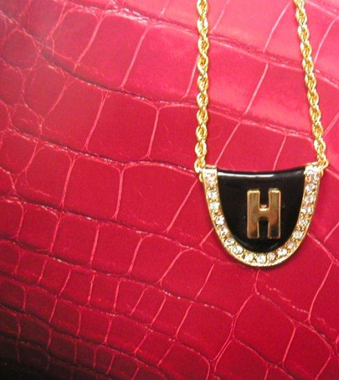 Harry Potter's Hogsworth Gold Necklace