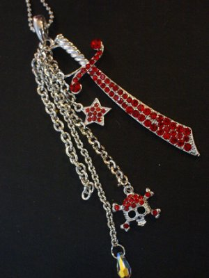 Gryffindor's Lost Sword Charm Necklace