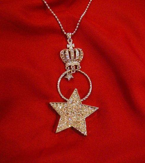 Kay Vu Kay StarCrown Silver Necklace