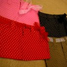 DollySass Super Short Polka Dot Skirts