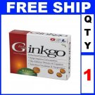 NEW 1 Box GSL GINKGO BILOBA Exp 2013 (30 Tablets/Lot)
