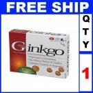 NEW 1 Box GSL GINKGO BILOBA Exp 2013 (30 Tablets/Lot)