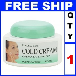 NEW 1 Jar PERSONAL CARE CARE COLD Cream Deep Cleaning Exp 2012 (8oz/Jar)