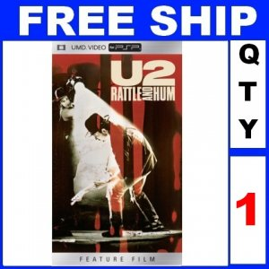 NEW 1 Video UMD U2 RATTLE AND HUM For PSP