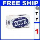 NEW 1 Bar Soap WHITE ZOTE Fishing Baits catfish bait mosquito repellent (14oz/Bar)