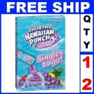 New 12 boxes Hawaiian Punch On-the-Go, Wild Purple Smash, (8 packets/box)