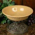 Pedestal Bowl Butterscotch
