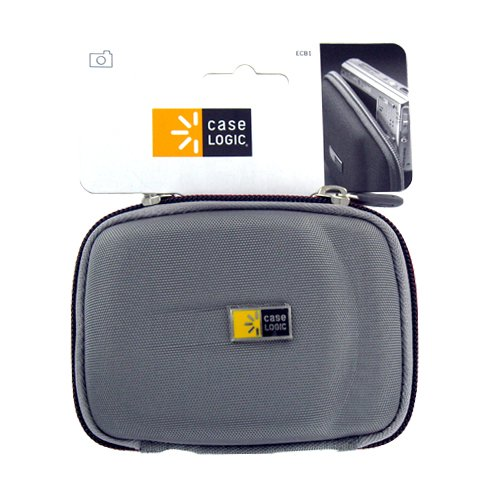 New Case Logic ECB-1 EVA Camera Case Silver Canon Sony