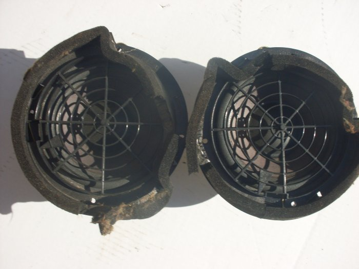 Cadillac Catera Bose Speakers Rear Used OEM 1997 1998 1999 2000 2001